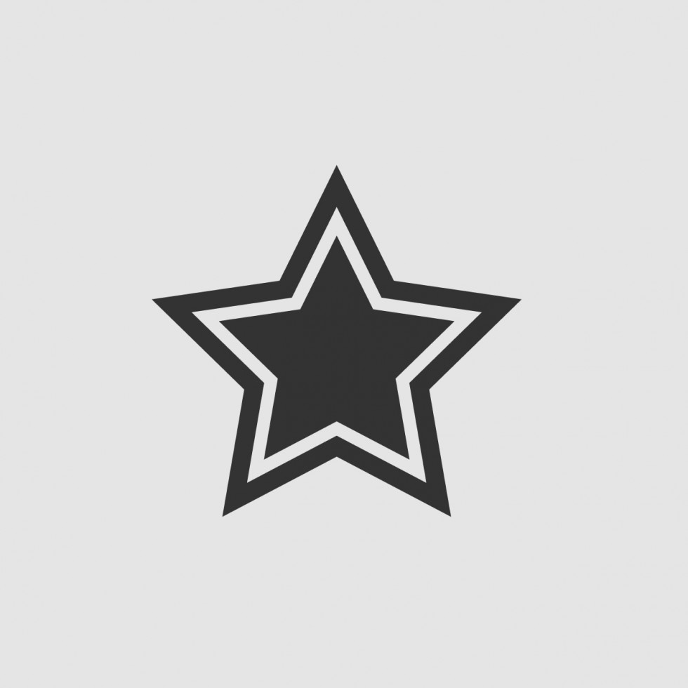 Star Icon png and eps