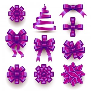 Christmas Bow Set