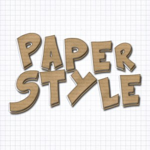 PSD Cardboard Paper Style